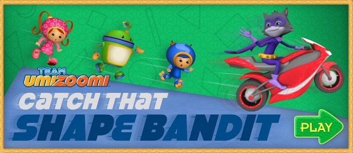 Team Umizoomi. Catch that shape bandit