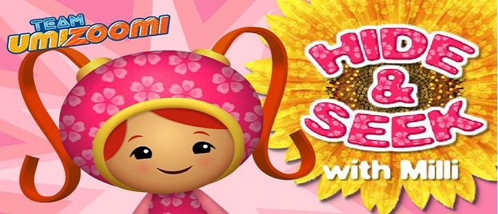 Team Umizoomi. Hide & Seek with Milli -Занимательные прятки с Милли. Игра на английском языке.